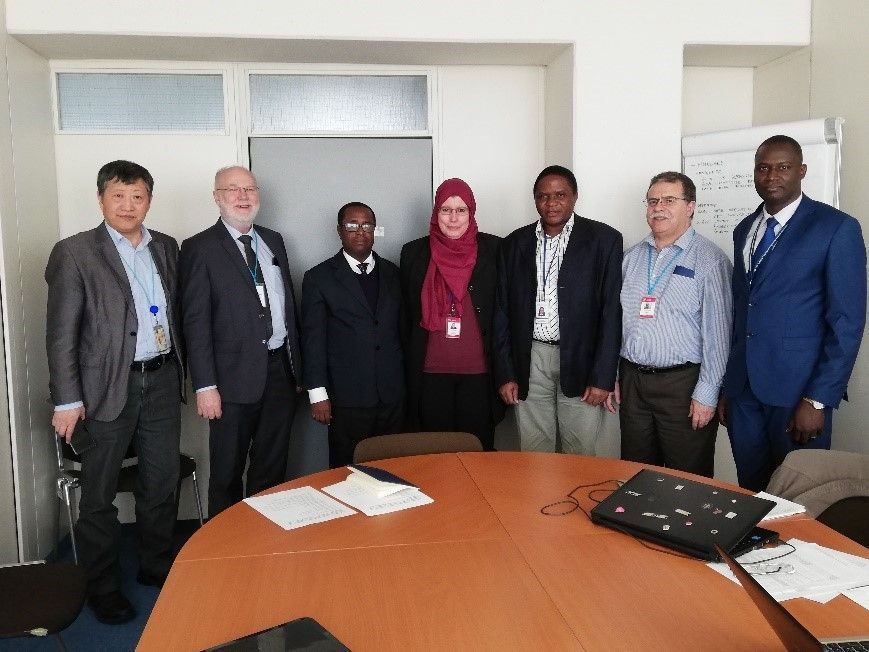 The SSDL of Algeria successfully hosted the 2018 African Regional Intercomparison Exercise on Individual Monitoring for External Exposure
